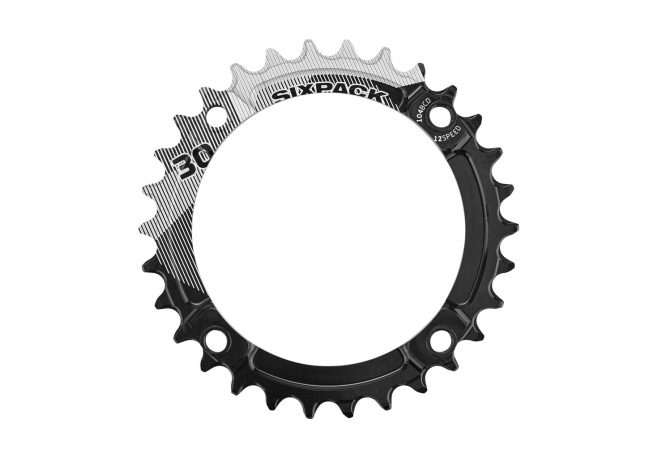 Plateau SIXPACK K-Ring Narrow-Wide 12V (104 BCD) Noir