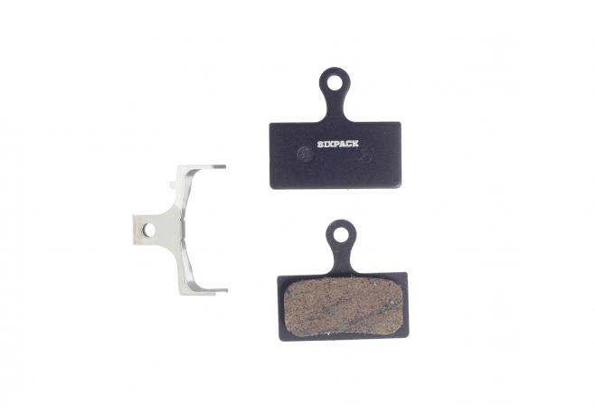 Plaquettes (semi-métallique) Shimano XTR/XT/SLX 2011
