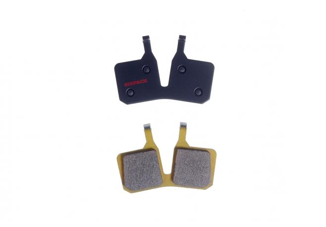 Plaquettes (métal fritté) Magura MT5 (4-piston)