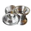Paire de Jantes JET WHEELS 120 mm Silver fixation 3 trous