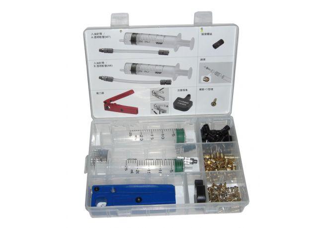Kit purge Tektro seringue/olives/insert