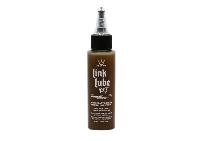 Lubrifiant Chaîne Peaty's Link Lube - Conditions Humide 60 ml